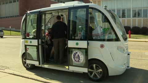 Driverless shuttle coming to Madison in the fall