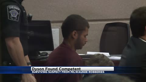 Surviving suspect from New Year's Eve robberies found competent