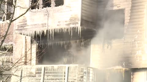 No injuries after fire breaks out in 3-story apartment building on Milwaukee's east side