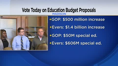 Evers, Republicans at odds over $500M school funding boost