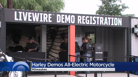 Harley-Davidson unveils new electric motorcycle