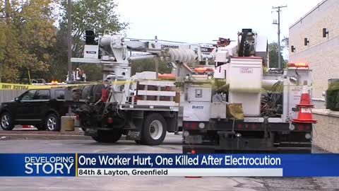 Man dead, another hurt after being electrocuted near 84th and...
