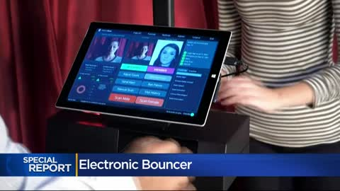 """Electronic bouncer:"" Bar and clubs use ID scanning systems..."