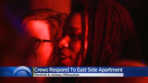 20 displaced following elevator fire in apartment building near Marshall and Juneau