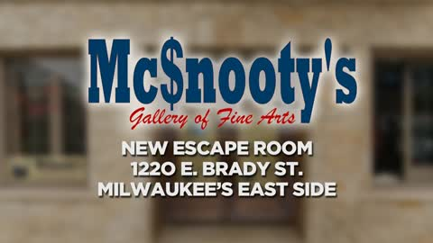 Time's a tickin' at McSnooty's Art Gallery.  It's Milwaukee's newest escape room