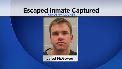 UPDATE: Escaped Kenosha Correctional Center inmate arrested in Dane County after four weeks on the run