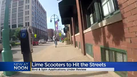 Lime e-scooters hit Milwaukee streets, other company applications...