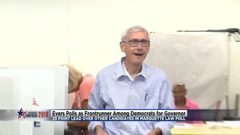 State Superintendent Tony Evers polls as front runner among Democrats for governor