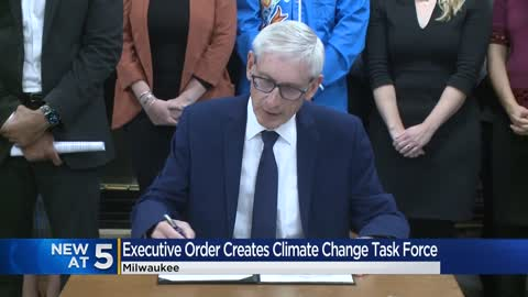 Evers creates climate change task force for Wisconsin
