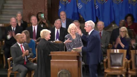 "Governor Evers calls for return to ""Wisconsin values"" in inauguration speech"