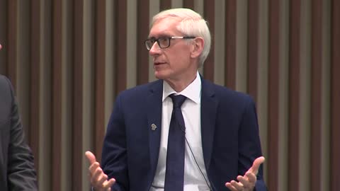 "Evers previews budget ""On the Issues"" at Marquette"
