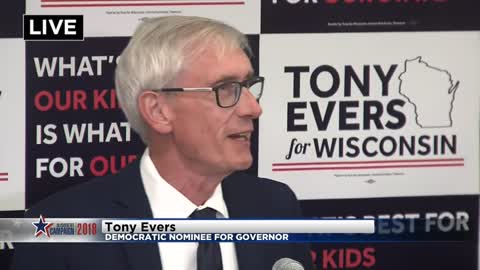 Evers to challenge Wisconsin Gov. Walker