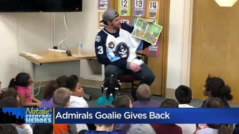 Natalie's Everyday Heroes: Admirals Goalie Tom McCollum