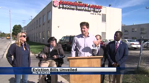 Local lawmakers unveil proposals designed to help families who face eviction