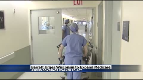 Mayor Barrett urging Gov. Walker to act now to expand Medicaid in Wisconsin