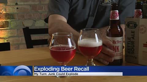 Lakefront Brewery recalls My Turn Junk bottled beer because it could explode