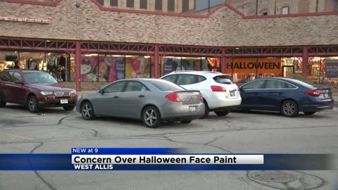 Halloween face paint may contain harmful ingredients