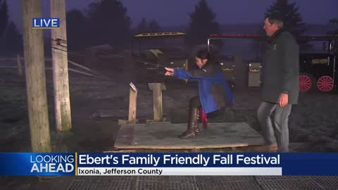 Two weekends left to check out family-friendly fun at Ebert's...