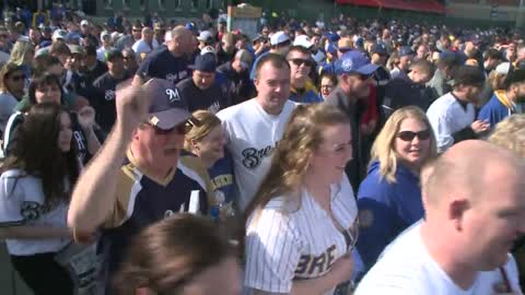 'Best opening day ever': Fans excited for the season after Brewers win