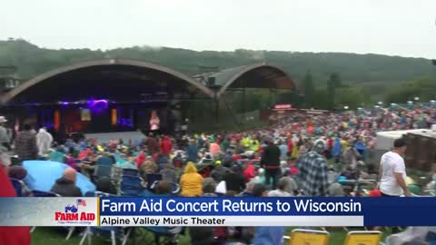 Farm Aid draws a crowd of thousands, helping farmers amidst dairy...