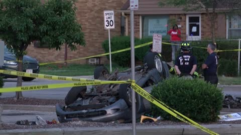 """Really, very scary:"" Neighbors react to fatal crash near 76th and Burleigh"