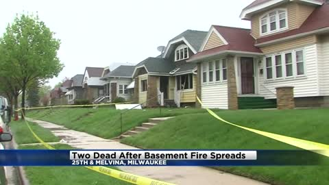 Two dead in house fire on Milwaukee's north side