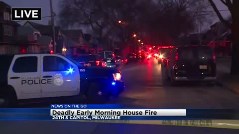 MFD responds to house fire near 24th and Capitol, 1 dead