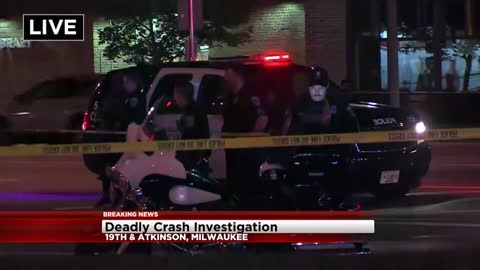 Fatal car vs pedestrian accident under investigation near 19th and Atkinson