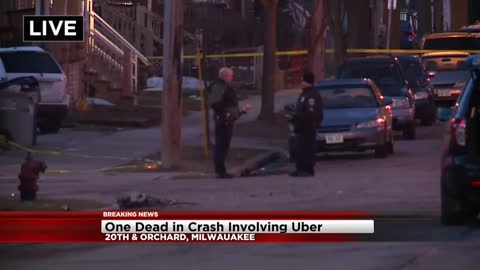 Stolen car crashes into Uber, 1 dead, others hurt