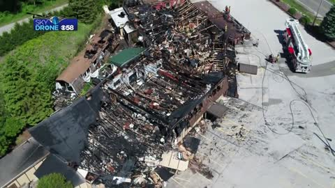 'It's horribly sad': Businesses to help host weddings for business destroyed in fire