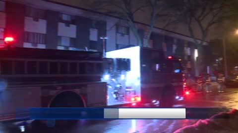 2 people taken to hospital following fire near 23rd and Kilbourn