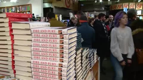 "Tell-all Trump White House book ""Fire and Fury"" sells out in southeast Wisconsin"