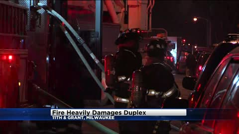 No injuries reported after fire damages duplex near 11th and...