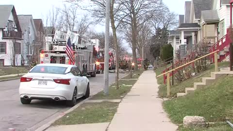 Fire breaks out at Milwaukee home daycare, at least 7 displaced