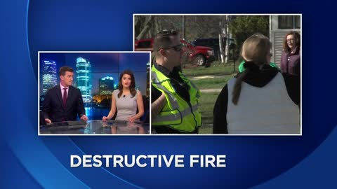 Kenosha man speaks after bonfire gets out of control, torches 11 buildings