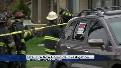 UPDATE: Deadly apartment fire now classified as homicide investigation, suspect in custody
