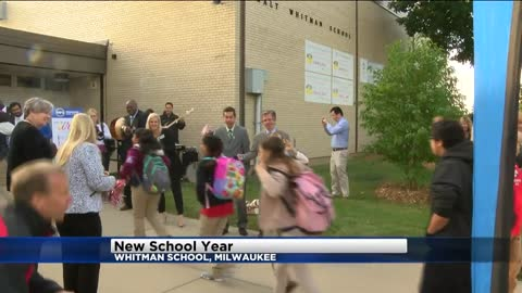 Governor, State Superintendent welcome students back to school
