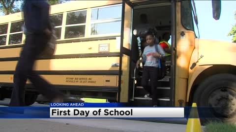 Thousands of students head back to school Tuesday