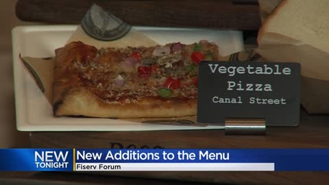 Fiserv Forum unveils new food, drinks
