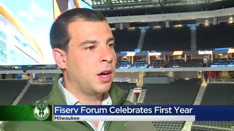 Fiserv Forum celebrates first anniversary