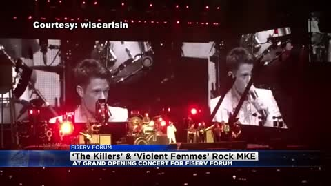 The Killers, Violent Femmes mark first concert at Fiserv Forum