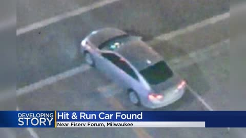 MPD: Vehicle recovered in hit-and-run outside Fiserv Forum, driver still sought