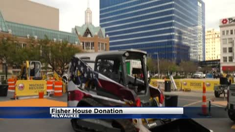 Milwaukee VA Medical Center's Fisher House receives generous $100,000 donation