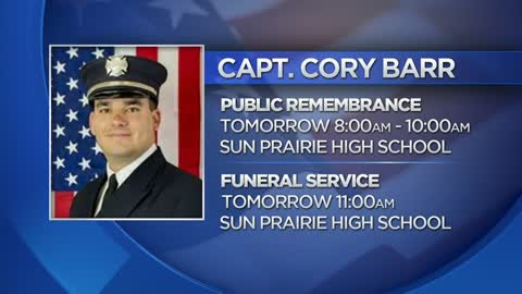Governor Walker orders flags to half-staff for Captain Cory Barr