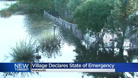 Village of Walworth declares state of emergency due to flooding