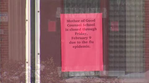 Milwaukee school closes for remainder of week due to flu