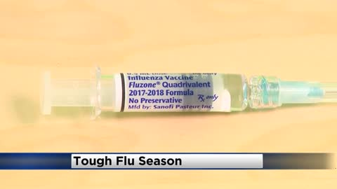 "CDC: ""Very active flu season"" across the country"