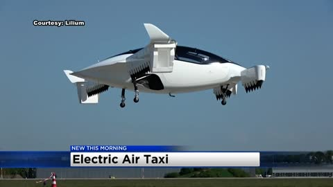 This startup is planning a flying taxi service that costs about...