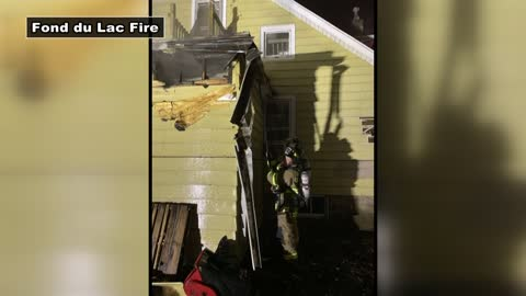 Fond du Lac firefighters respond to fire at home under renovation