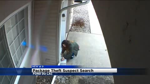 Fond du Lac Police looking for suspect in package thefts